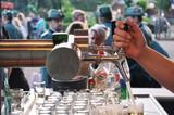 Bierzapfen auf dem Schützenfest  - 158841010
