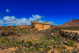 An ancient ruin located in the middle of Lanzarote.