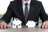 Savings concept for house investment