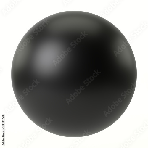 © PixlMakr - Fotolia.com Black sphere