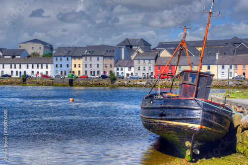 The Claddagh Galway in Galway, Ireland. Poster