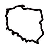 Mapa Polski - kontury - 158892048