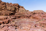 The theatre, in the ancient Petra, Jordan