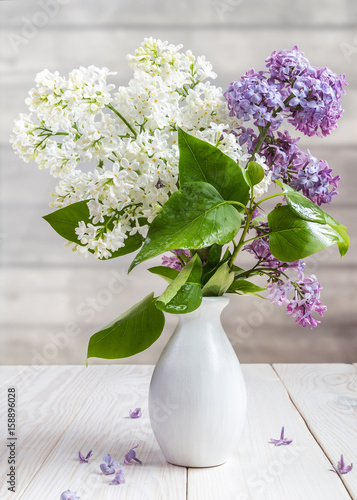 Image with lilac