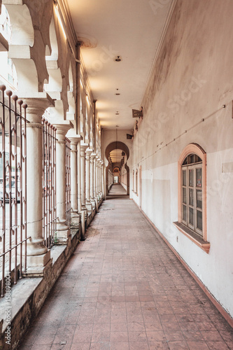 Foto op Canvas Kuala Lumpur Abandoned place in in Kuala Lumpur, Malaysia.