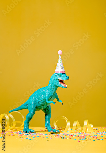 Dinosaur Birthday Party Poster
