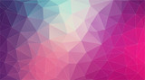 Flat 2D bright violet abstract triangle shape background