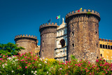 The medieval castle of Maschio Angioino or Castel Nuovo (New Castle), Naples, Italy.