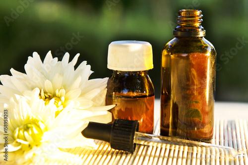Plakat Massage and spa oils