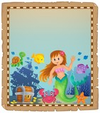 Parchment with mermaid topic 4