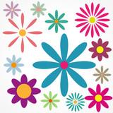fond abstrait,fleur
