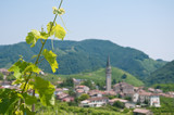 Panorama of beautiful landscapes of valdobbiadene - 159008278