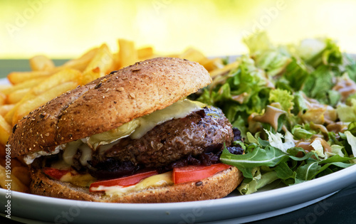 Papiers peints Steakhouse Hamburger