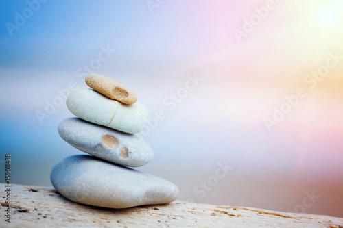 Poster Stenen in het Zand sea
