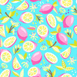 seamless pattern with lemon - 159018034