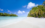 One Foot Island, Aitutaki, Cook Islands, South Pacific - 159019443