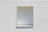 volet façade blanc en PVC - 159037206
