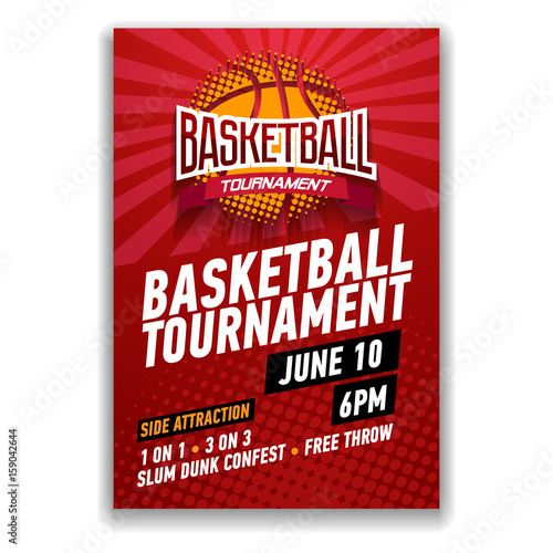 basketball tournament modern sports posters design buy photos