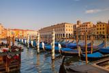 Venice / Sunset of the city.