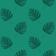Cotton fabric Palm leaf seamless vector pattern