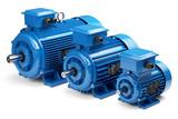 Three industrial electric motors - 159084082