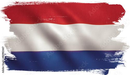 In de dag Rotterdam Holland Flag