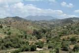 Felder und Wiesen in Äthiopien
