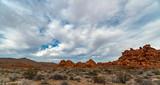 Desert Coudscape