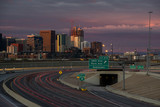 Fototapety Downtown Denver Sunrise