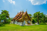 Sri Don Chai first temple in Pai district Thailand