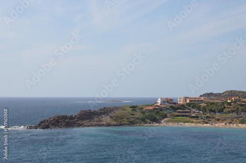 A view of Portoscuso, Sardinia