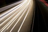 Langzeitbelichtung Autobahn Bremen Deutschland Europa