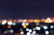 city night with dark sky, abstract blur bokeh light background - 159180237