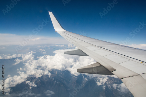View from airplane window - 159188276