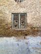 historical building window of Iraqi Kurdistan capital, Erbil citadel