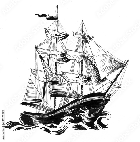 Old ship - 159202682