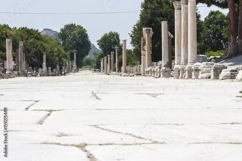 Remains of the antique greek, later roman, city of Ephesus (Turkey)