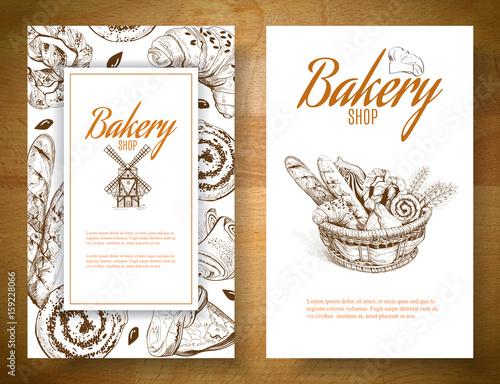 Bakery basket banner