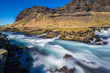 Roadside rapids near Foss a Sidu, Iceland