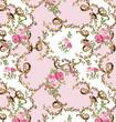 Oriental background motif floral pattern  - 159262008