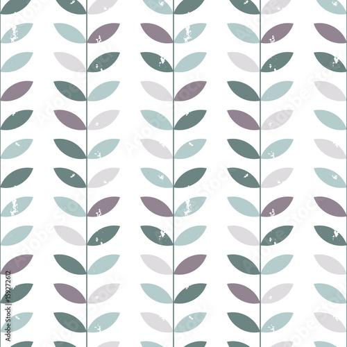 wektor-kwiatowy-wzor-galazki-i-liscie-w-stylu-retro-ciemne-chlodne-barwy