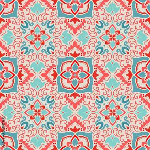 Vector damask seamless pattern - 159273892