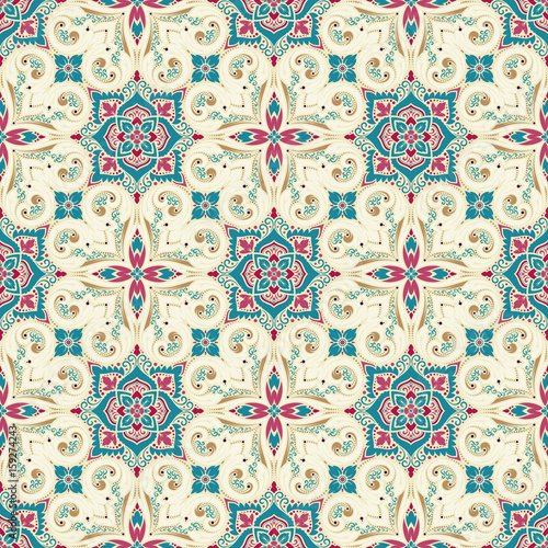 Vector damask seamless pattern - 159274243