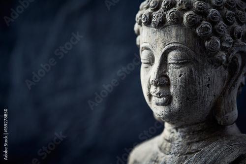 Plakát Gray Buddha Statue