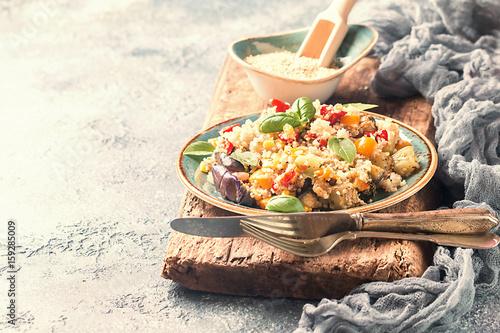 Quinoa salad. Superfoods concept. - 159285009