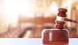 Martello giudice, aula di tribunale, giustizia
