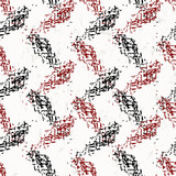 seamless background pattern, with strokes and splashes, zigzag