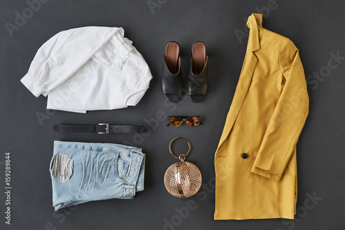 Flat Lay Shot Of Female Clothing And Accessories © Monkey Business