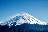 fuji Mountain blue sky