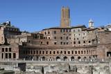 Ruins of Trajans Market - Rome - Italy poster